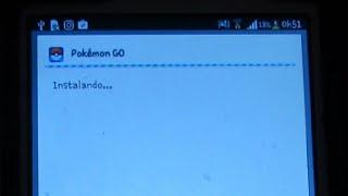 como Instalar pokemon go para android 4.0 , 4.1, 4.2, 4.3 e 4.4
