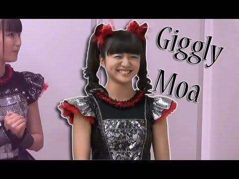 Moa Kikuchi (菊地最愛 ) Giggling during a interview