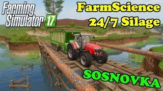 Farming Simulator 17 | FarmScience 24/7 Silage server | Sosnovka | Timelapse