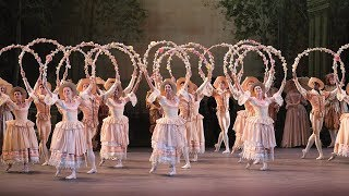 Experience The Sleeping Beauty in 360°: The Garland scene | English National Ballet