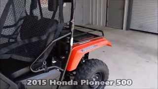 2015 Honda Pioneer 500 For Sale Tn / Ga / Al - Sxs500m2 Utv Side By Side
