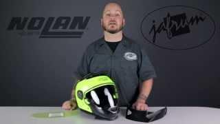 Nolan N44 Trilogy Helmet Review at Jafrum.com