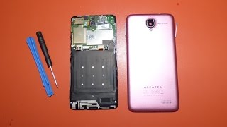 Como remover tapa trasera Alcatel One Touch Idol 6030 6030a 6030d 6030x