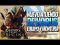 Assassin's Creed Origins | NUEVO ATUENDO HORUS PACK, Equipo montura y arcos  | GAMEPLAY