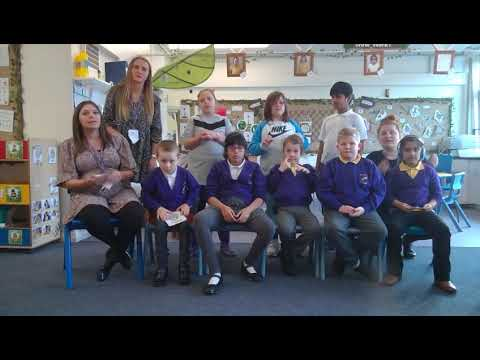 St Giles School in Derby send Makaton video message of support to city schools destroyed by fire
