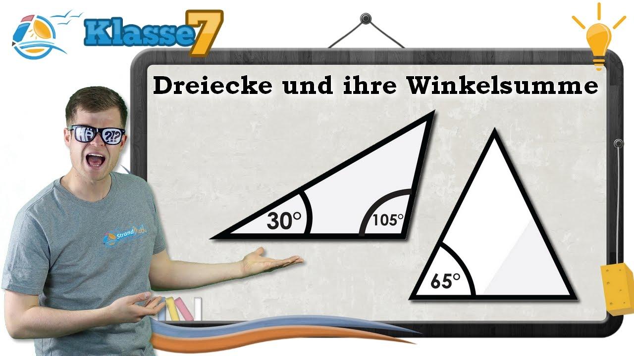Fine Winkelsumme Eigenschaft Eines Dreiecks Arbeitsblatt Image ...