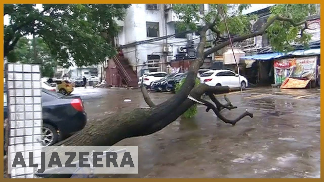 🇨🇳 🌀 Mangkhut kills four in China, causes destruction in Hong Kong | Al Jazeera English