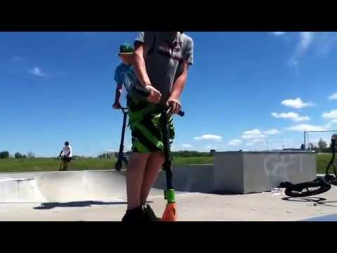 Ripping the Dryden skate park