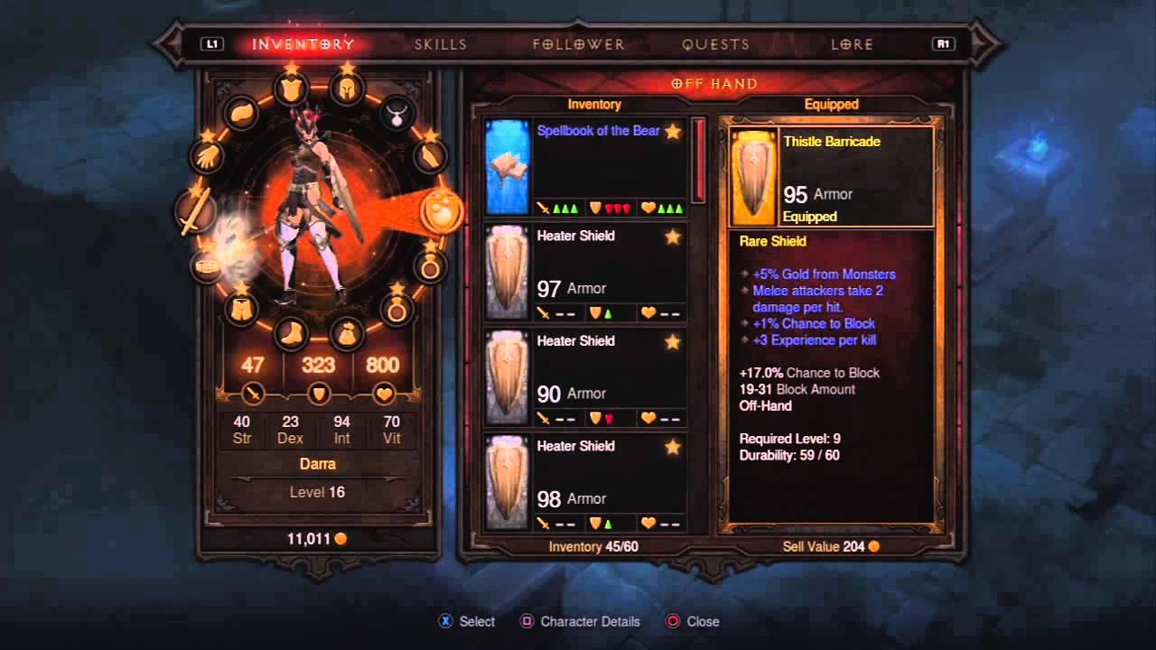 Level  Wizard Build Diablo