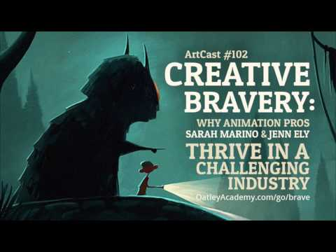 Creative Bravery - Why Animation Pros Sarah Marino and Jenn Ely Thrive In A Challenging Industry