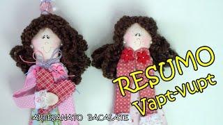 Vapt-vupt Boneca Marcador de Página Bacalate – RESUMO DIY, muñeca de libro