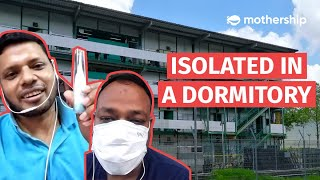 Covid-19: Migrant workers in Singapore's Cochrane Lodge II talk about their experience in isolation