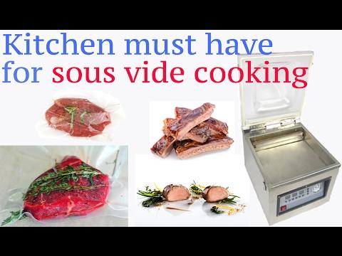 vacuum sealer sous vide cooking must have sous vide sealer