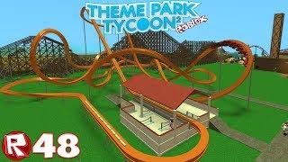 Roblox - Episode 48 | Theme Park Tycoon 2 - La Rome Antique / FR