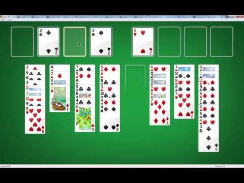 Freecell Tutorial Using The Most Difficult Game