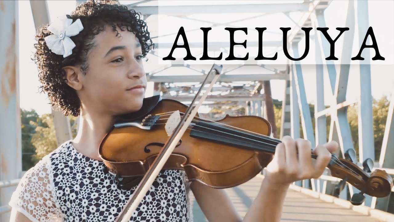 Aleluya Hallelujah Violin Piano Himno Música Cristiana Instrumental Alismabeth Abner Youtube