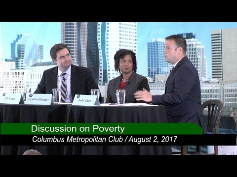 Columbus Metropolitan Club: JD Vance - On Poverty