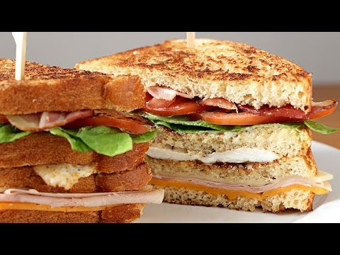 Cómo hacer sandwich club - Receta fácil y rica
