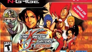 King of Fighters Extreme - Nokia NGage