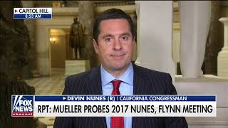 'Fake News': Nunes Responds to Mueller Reportedly Probing Meeting With Flynn, Foreign Officials