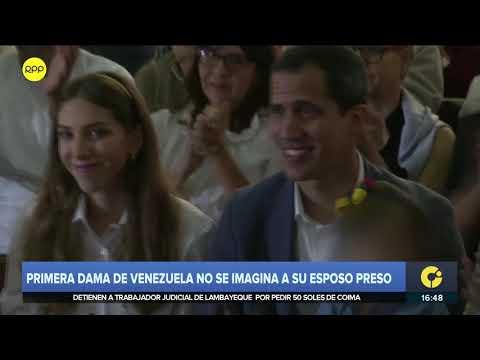 """Esposa de Juan Guaidó a RPP: """"Jamás lo he imaginado preso o lejos de su hija"""""""