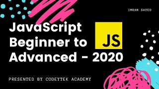 #2 JavaScript Crash Course | Javascript Tutorial For Beginners - Crash Course 2020 | Full Course