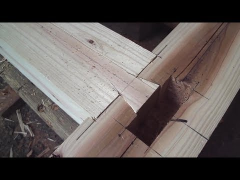 Woodworking,Japanese Joinery, Groundsill Connectors
