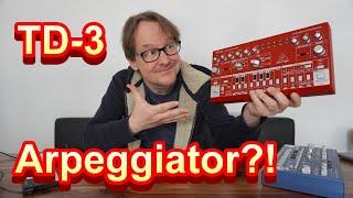 Behringer TD-3: Arpeggiator? Here it is – mesmerizing …