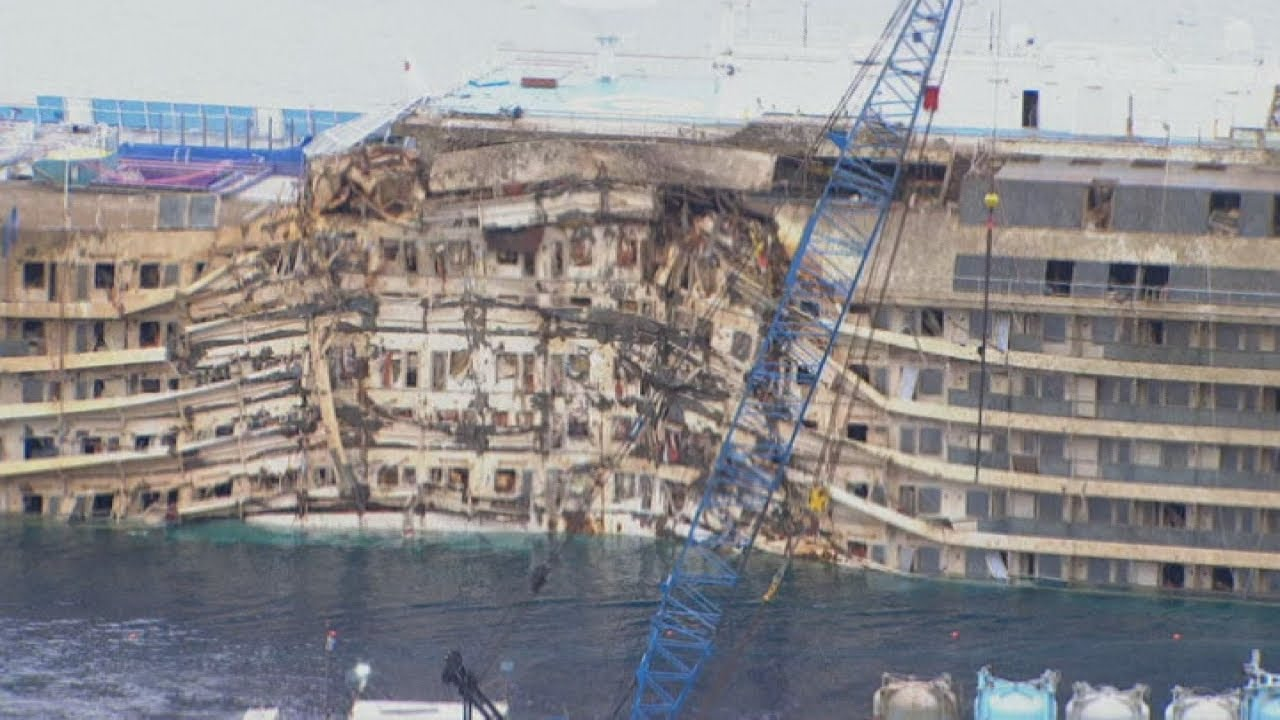 Costa Concordia Salvage Master Finding Missing People On