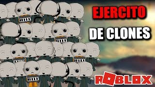 CREATE OUR EXERCISE OF CLONES IN ROBLOX CLONE TYCOON FUTURE IN ENGLISH