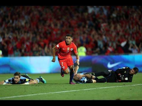 Chile 3 - 1 Uruguay | Eliminatorias Rusia 2018 | Alberto Jesús López