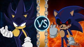 A versão das trevas de Sonic contra seu alterego. Sonic tenta se tr...