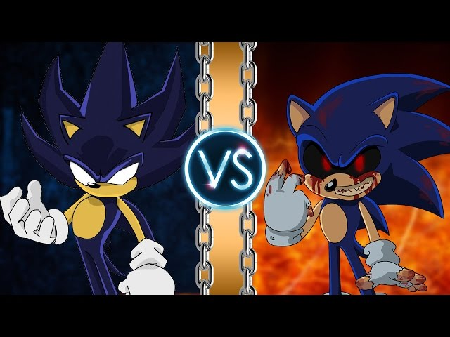 Dark Sonic vs Sonic.Exe