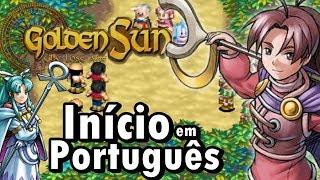 Golden Sun: The Lost Age (GBA) - O Início (Jogo em Português)