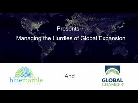Webinar: Managing the Hurdles of Global Expansion
