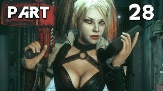 Batman Arkham Knight Walkthrough Gameplay Part 28 - Harley Quinn (PS4)