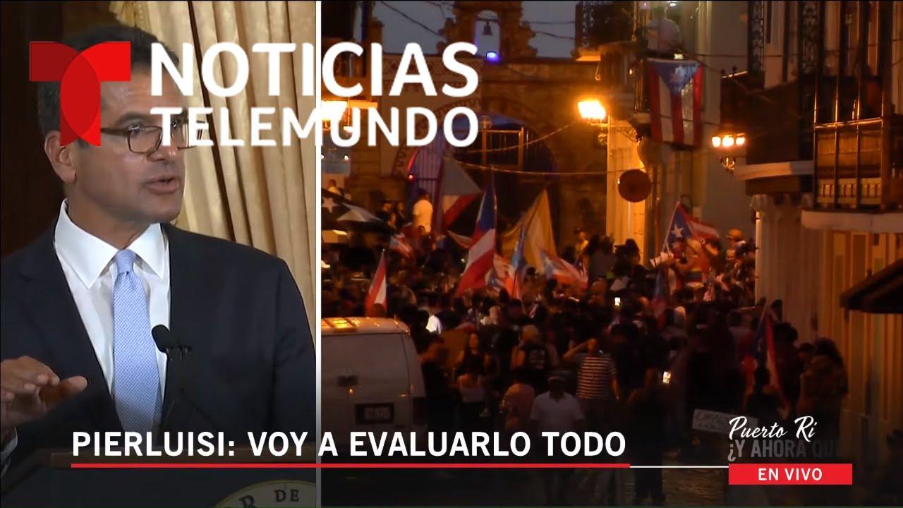 EN VIVO: Programa especial: Crisis en Puerto Rico ¿Y ahora qué? | Noticias  Telemundo