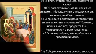 Евангелие дня 18 Февраля 2020г