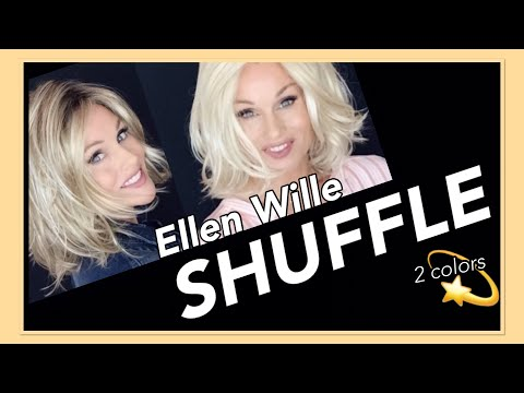 Ellen Wille Changes SHUFFLE Wig Review | Champagne Rooted & Pastel Blonde Mix | 2 Colors!
