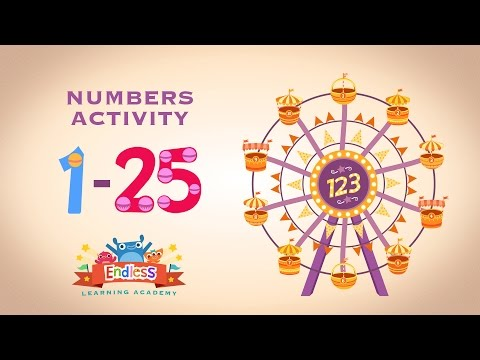 Endless Numbers 1-25