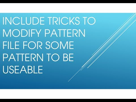 AutoCAD - Download and install free hatch pattern Tutorial - YouTube
