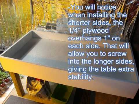 Build A 3x6 Hydroponic Grow Bed For Under 100 Youtube