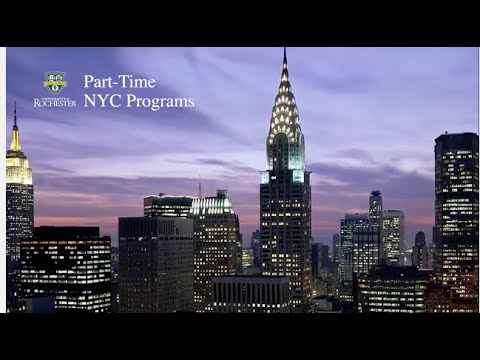 Simon Business School Part-time Programs in NYC