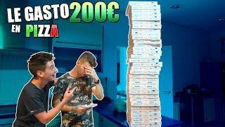 ME DEJA SU TARJETA DE CREDITO Y LE GASTO 200€ EN PIZZAS!! BROMA MUY PESADA [bytarifa]