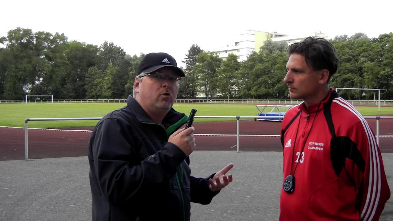 2017 07 03 Fussball Interview Oliver Stepniak Trainer