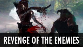 Skyrim Mod: Revenge of the Enemies - Enemy AI Overhaul