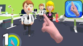 Flick Master 3D - Gameplay Walkthrough Part 1 All Levels 1-20 (Android & iOS) screenshot 1