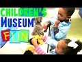CHILDREN'S MUSEUM FAMILY FUN TRIP| KIDS LEARNING ACTIVITIES & TOYS