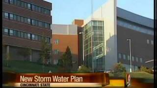 Cincinnati State forms new storm water management plan.