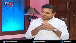 TRS Working President KTR Exclusive Interview | MP Elections 2019 | TV5 News